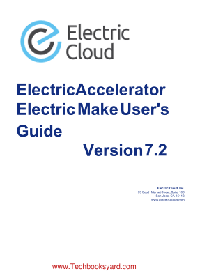 ElectricAccelerator Electric Make Users Guide