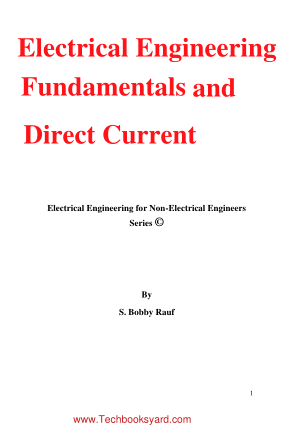 Electrical Engineering Fundamentals DC Circuit Analysis