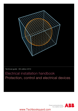 Electrical installation handbook Protection control and electrical devices