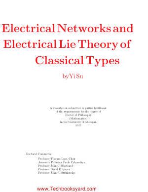Electrical Networks and Electrical Lie Theory of Classical Types by Yi Su