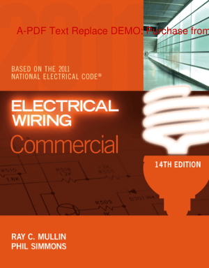 Electrical Wiring Commercial By Ray C Mullin and Phil Simmons