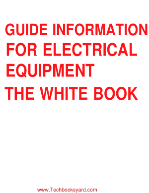 Guide Information for Electrical Equipment the White Book