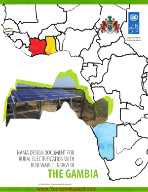 Nama Design Document for Rural Electrification with Renewable Energy in the Gambia