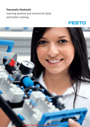 Pneumatic Hydraulic Learning Systems and Services for Basic and Further Training