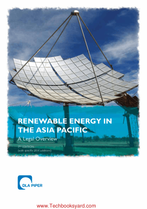 Renewable Energy in the Asia Pacific 3rd Edition
