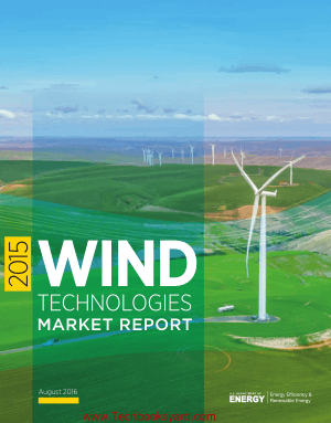Wind Technologies Market Report