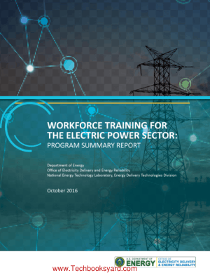 Workforce Training for the Electric Power Sector Training