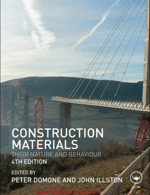 Construction Materials 4th Edition