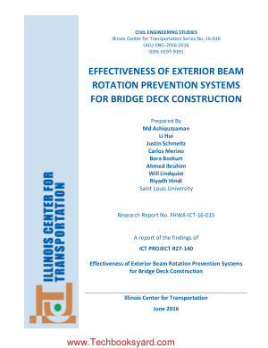 Effectiveness of Exterior Beam Rotation Prevention Systems for Bridge Deck Construction by Md Ashiquzzaman