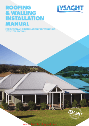 Roofing Walling Installation Manual
