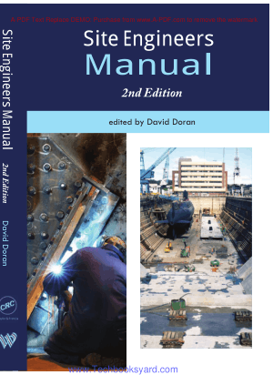 Site Engineers Manual 2nd Edition by David Doran