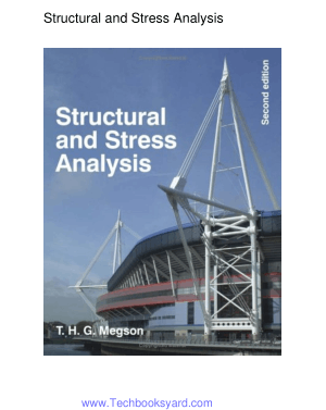 Structural and Stress Analysis Second Edition by Dr. T.H.G. Megson