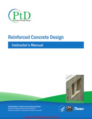 Reinforced Concrete Design Instructors Manual