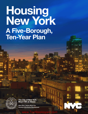 Housing New York A Five Borough Ten Year Plan