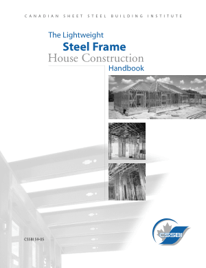 The Lightweight Steel Frame House Construction Handbook