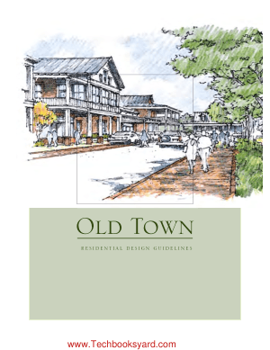 Old Town Residential Design Guidelines