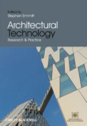 Architectural Technology by Stephen Emmitt