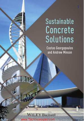 Sustainable Concrete Solutions By Dr Andrew Minson