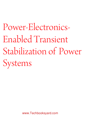 Power Electronics Enabled Transient Stabilization of Power Systems by Milos Cvetkovic