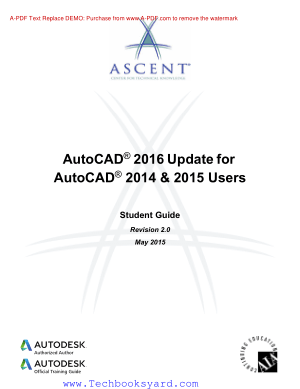 Autocad 2016 Update For Autocad 2014 and 2015 Users