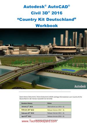 Autodesk AutoCAD Civil 3D 2016 Country Kit Deutschland Workbook