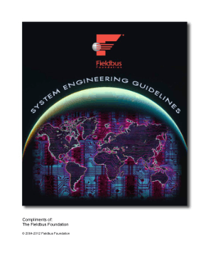 foundation fieldbus system engineering guidelines