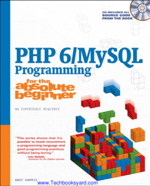 PHP 6 MySQL Programming for The Absolute Beginner