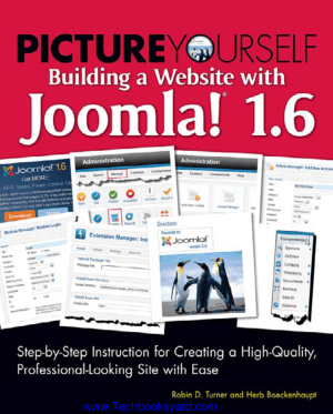 Picture Yourself Building A Website With Joomla 16 Book