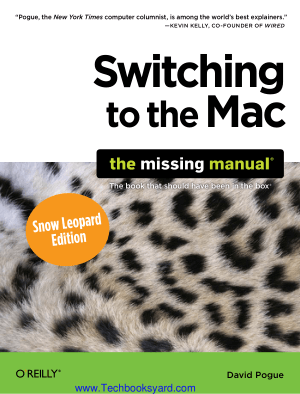 Switching to the Mac The Missing Manual Snow Leopard Edition
