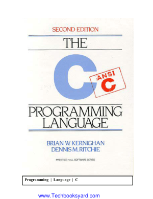 The Ansi C Programming Language Ritchie and Kernighan 2nd Edition