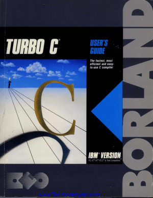 Turbo C Users Guide