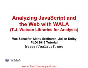 WALA JavaScript Tutorial