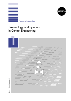Terminology and Symbols in Control Engineering