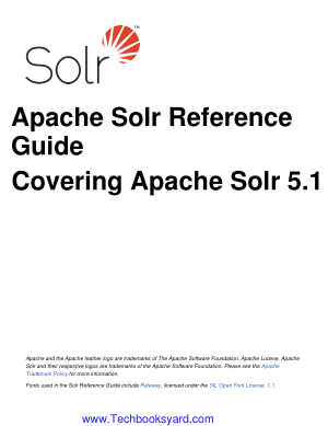 Covering Apache Solr 5.1