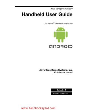 Handheld User Guide