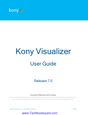 Kony Studio User Guide 7.0