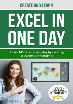 Create and Learn Excel in One day Learn Ms Excel in one day by creating a Dynamic Infographic