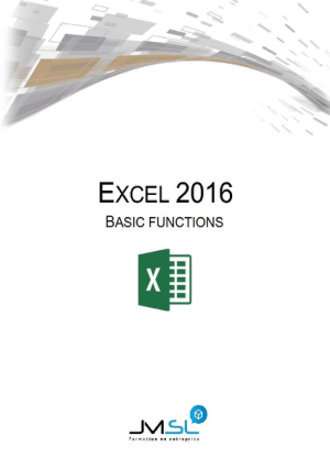 Excel 2016 Basic Functions