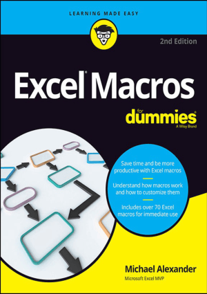 Excel Macros For Dummies For Dummies Computer Tech
