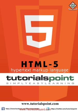 HTML5 Hypertext markup language