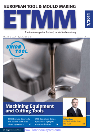 Machining Equipment and Cutting Tools