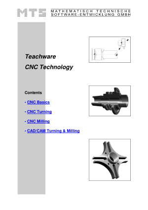 Teachware CNC Technology