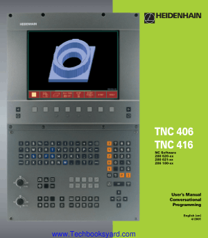 TNC Models TNC 406 TNC416 Software and Features