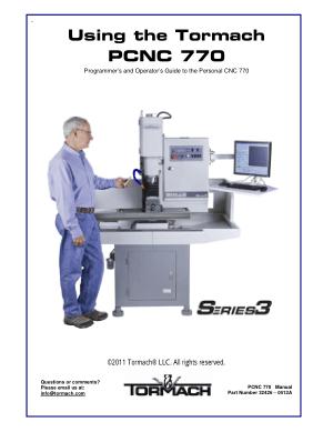 Tormach PCNC 770