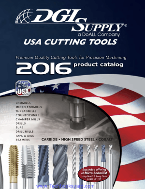 USA CuttingTools Complete Offering Of Premium Quality High Performance Cutting Tools For Precision Machining