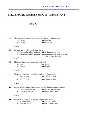 electrical 131 mcq