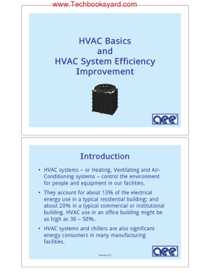 HVAC Basics and HVAC System Efficiency Improvement