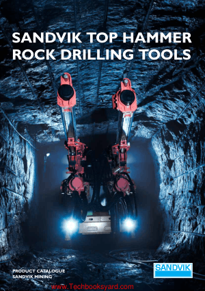 Sandvik Top Hammer Rock Drilling Tools