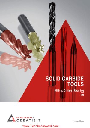 Solid Carbide Tools Milling Drilling Reaming