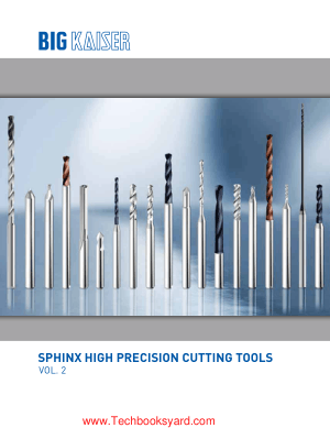 Sphinx Vol. 2 High Precision Cutting Tools